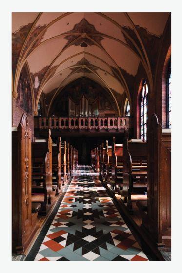 Kaart - Willibrorduskapel - orgel