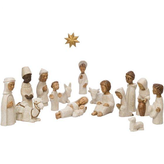 Complete kleine kerststal